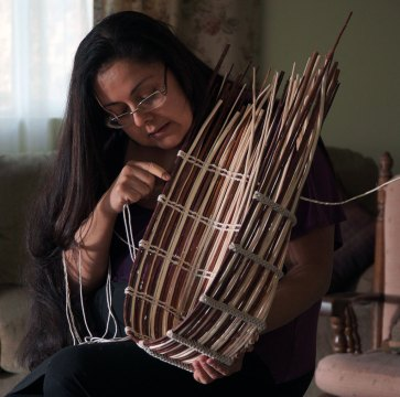 Corine Pearce, Basket Weaver, Craft in America