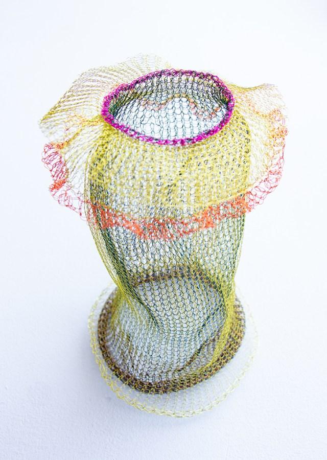 Arline Fisch, Coral, 2018, Aquatic Bloom, Craft in America