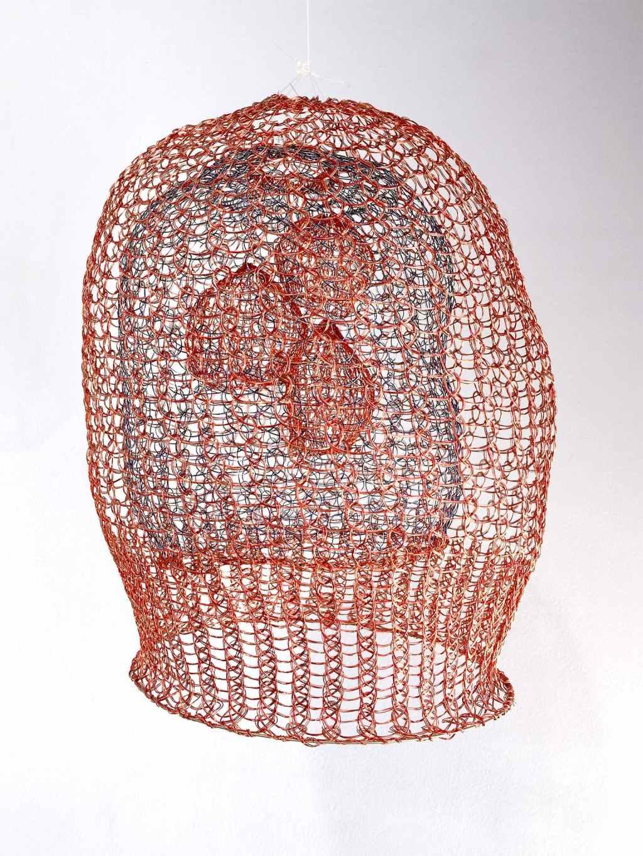 Arline Fisch, Lantern, 2008-2018, Aquatic Bloom, Craft in America