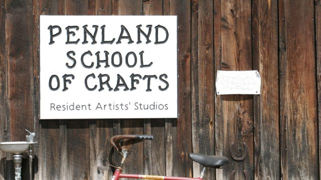 Penland School of Crafts, Resident Artist's Studios signage