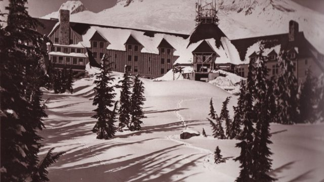 Timberline Lodge, Landscape
