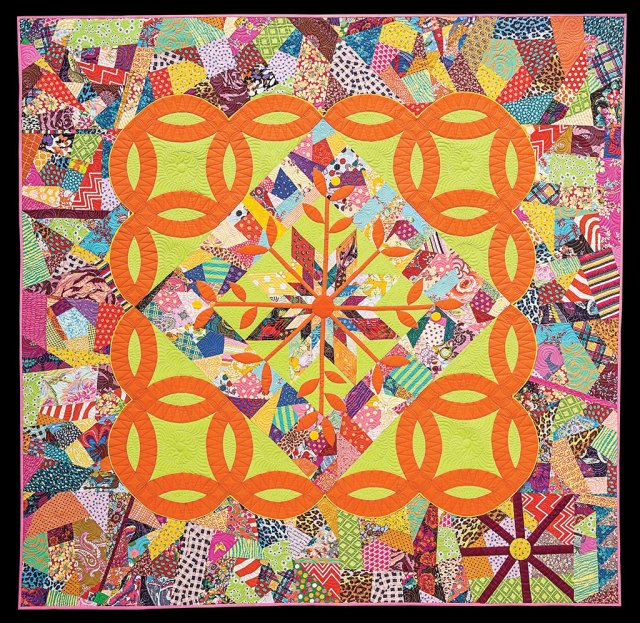 Victoria Findlay Wolfe, A Summers Day, 2010-2013, quilts