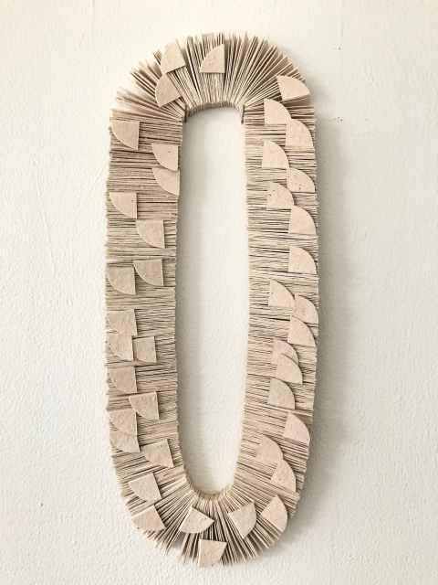 Kiff Slemmons, Ojo de Agua (Escarmas) 2009, Cotton and Chichicastle Paper from Arte Papel Vista Hermosa, Craft in America