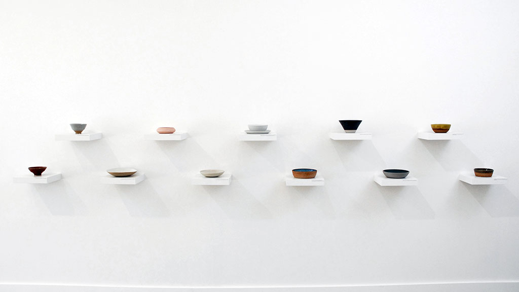 WALL OF BOWLS, Consume: Handcrafting L.A. Restaurant Design, Craft in America