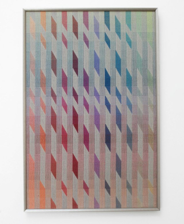 Jennifer Moore, Shadow Dancing, 1986. Material Meaning: A Living Legacy of Anni Albers, Craft in America