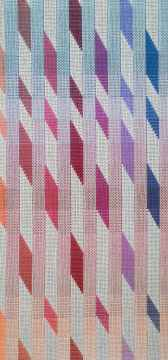Jennifer Moore, Shadow Dancing (detail). Material Meaning: A Living Legacy of Anni Albers, Craft in America