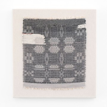 Rachel Snack, Weaving No.12, The Leyland Collection, 2016. Material Meaning: A Living Legacy of Anni Albers, Craft in America