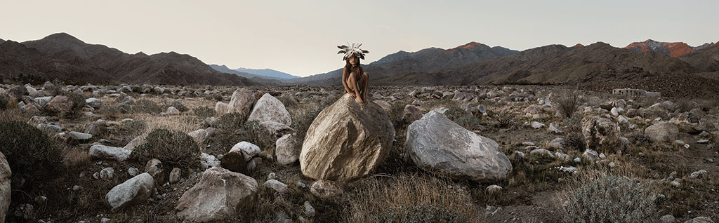 Cara Romero, Indian Canyon, Jackrabbit, Cottontail & Spirits of the Desert series, Identity episode, Craft in America