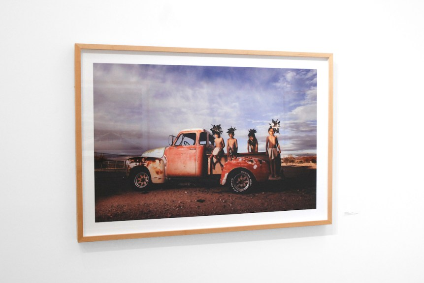 Cara Romero, Spirits of Siwavaats, 2019, Archival pigment prints, Legacy platine