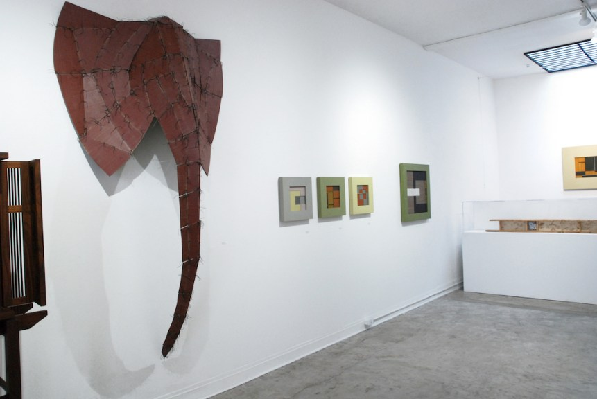 Installation view of Wendy Maruyama's work, IDENTITY, Craft in America