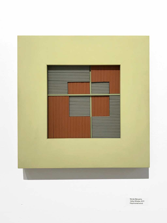 Wendy Maruyama, Yellow Window, 2019, IDENTITY, Craft in America