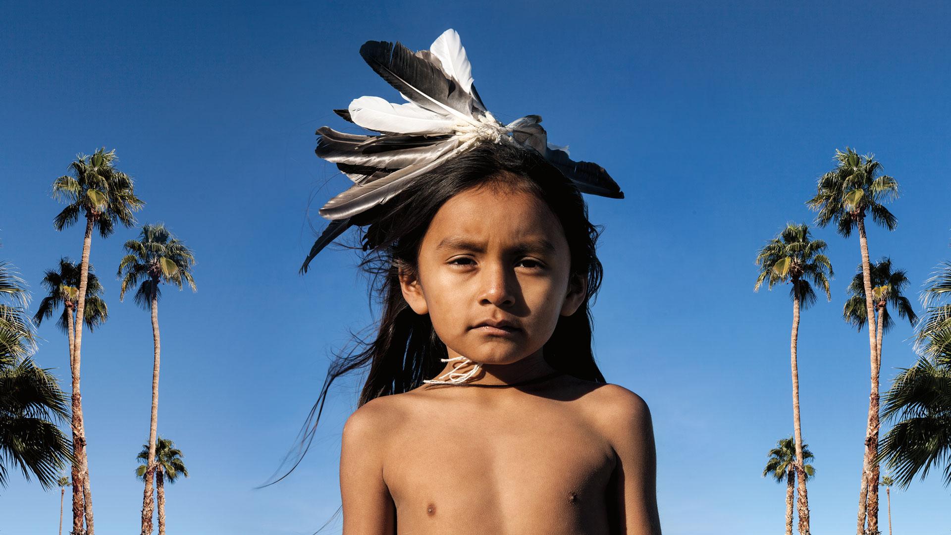Cara Romero, Kiyanni, Jackrabbit, Cottontail & Spirits of the Desert series, Identity