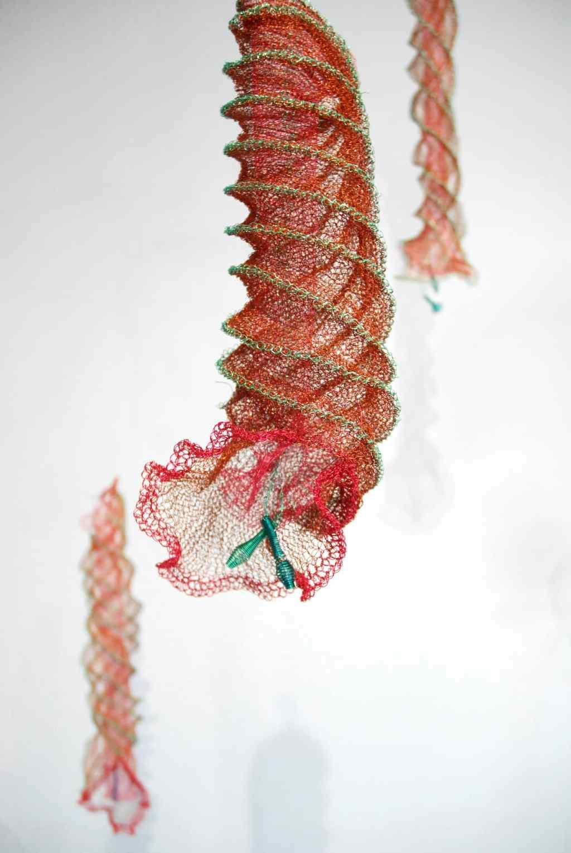 Arline Fisch, Spiral Jellies (detail), 2008-2018