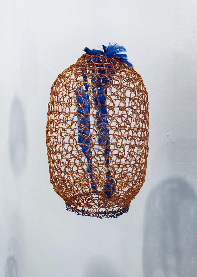 Arline Fisch, Gold Jelly, 2008-2018, Aquatic Bloom, Craft in America