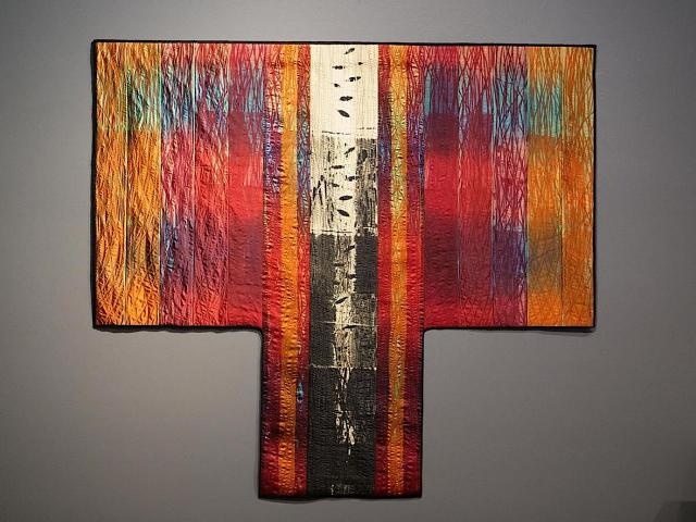 Judith Content, Aftermath, QUILTS, Craft in America