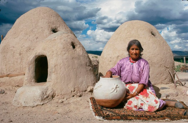 Islands in the Land Exhibition, The Rio Grande, Cochiti, Terecita Romero, Craft in America