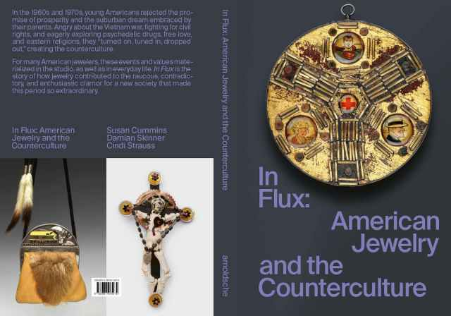 Craft in America, In Flux Event, Front and Back Cover 2021