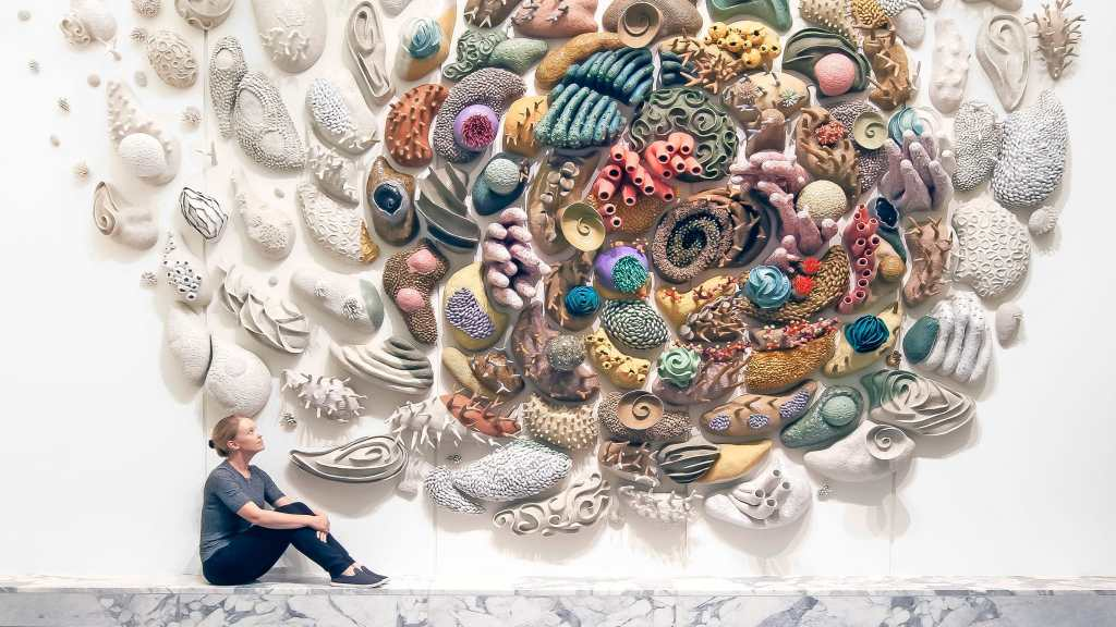 Courtney Mattison, Confluence (Our Changing Seas V), Craft in America