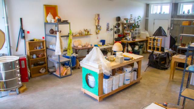 Craft in America, Making Waves, Temporary-Justin Donofrio's Colorado Studio