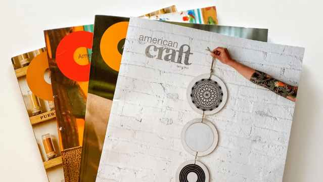 The American Craft Council, Craft in America