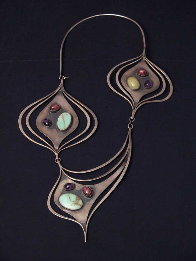 Art Smith, Ellington Necklace. Courtesy of the Estate of Art Smith. JEWELRY episode of Craft in America