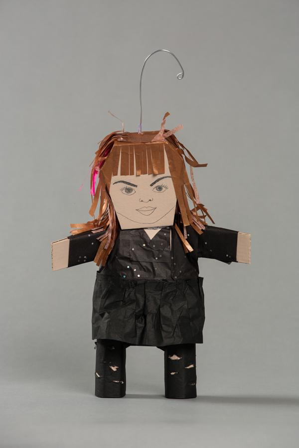 Ana Serrano, Piñatitas Gloria Trevi, 2012, Craft in America, Piñatas