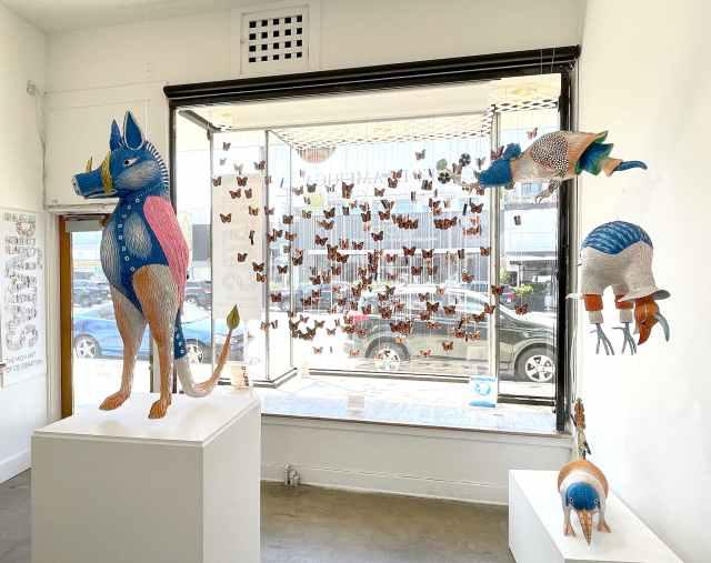 Isaias Rodriguez, resilience, 2021, Craft in America, Piñatas