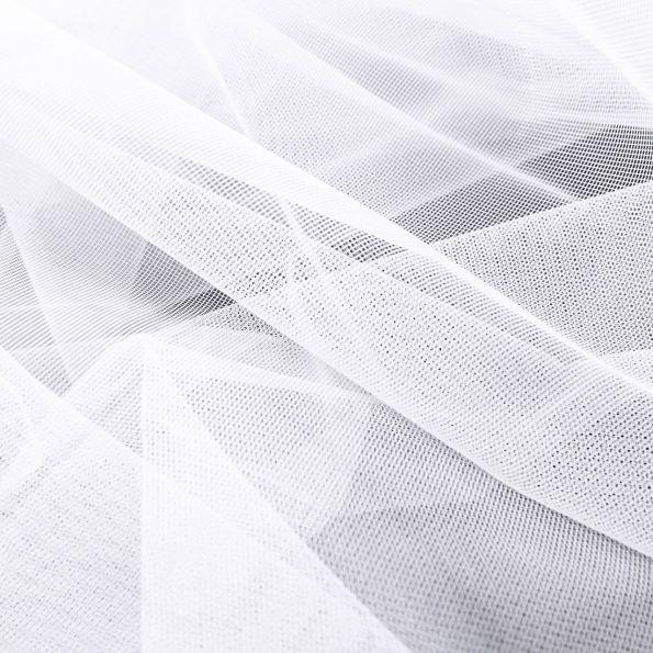 tissu moustiquaire grande largeur 20d blanc par 10 cm