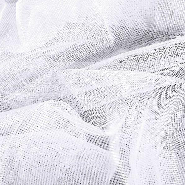 tissu moustiquaire grande largeur 40d blanc par 10 cm