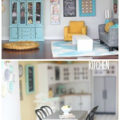 Living Room Set Diy Orange Decorating Ideas Dollhouse And Kitchen By Craftiness Is Not Optional