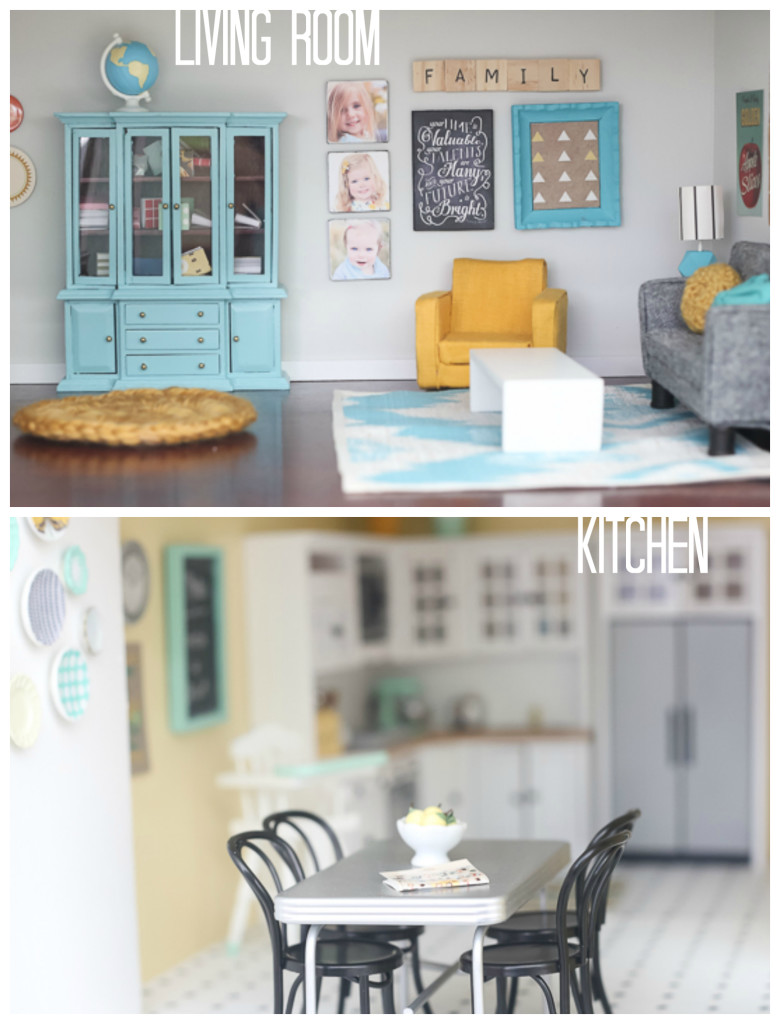 diy living room paint colors ideas for rooms dollhouse and kitchen by craftiness is not optional
