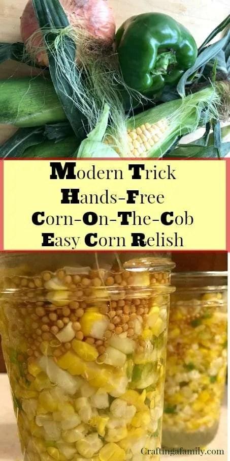 Easy Corn Relish ||Aunt Lois Epps Corn Relish