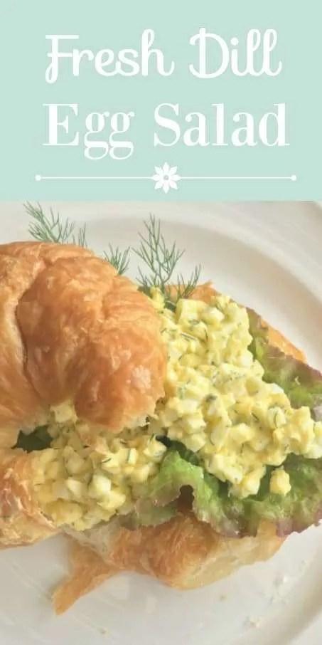 Dill Egg Salad Sandwich || Aunt Lois Epps