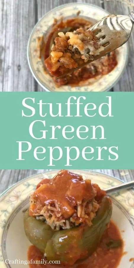 Grandma Grace Buonpane Stuffed Green Peppers
