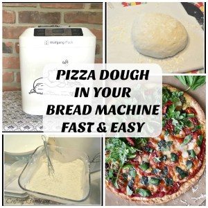 PIZZA DOUGH IN YOUR BREAD MACHINE FAST & EASY