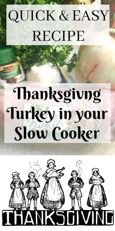 Easy Slow Cooker Thanksgiving Turkey Breast Recipe