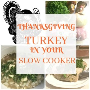 EASY THANKSGIVING TURKEY SLOW COOKER RECIPE