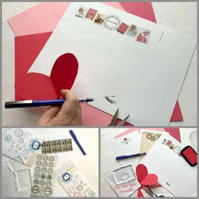 Valentine's Day Love Letters and Cards are a special way to tell the ones you love that they are always in your heart. Make sure you grab your Free Printable at craftingafamily.com