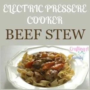 Beef stew is hearty ,savory, warming, comforting and a great meal for a family weeknight dinner. Easy to prepare and on the table with your electric pressure cooker or Insta Pot.