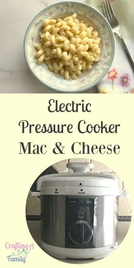 A quick homemade Mac & Cheese recipe that can't be possible even with an electric pressure cooker. You can have with the Electric Pressure Cooker quick Mac & Cheese and the recipe is unbelievably easy.