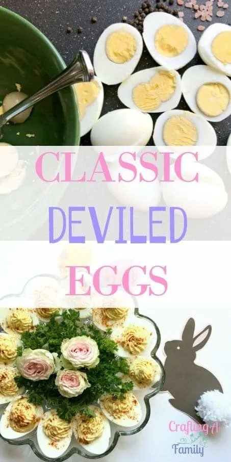 Classic Party Deviled Eggs || Easter Menu