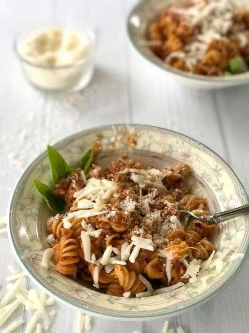 Electric Pressure Cooker Vegetarian Spaghetti Sauce Recipe