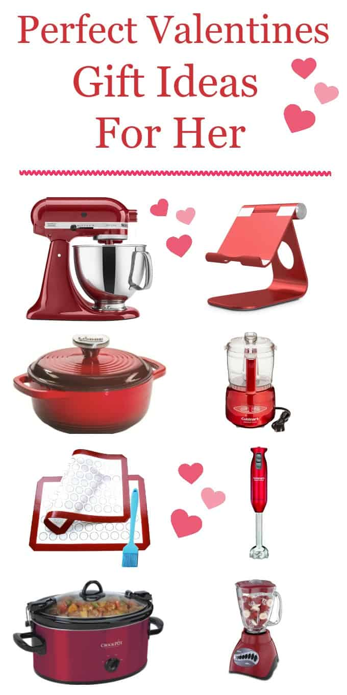 Valentines Day Red Bakers Gift Ideas ~ Craftingafamily.com