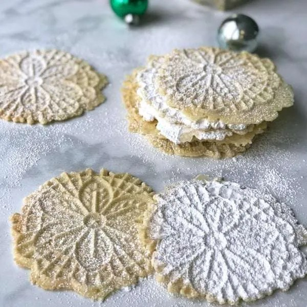Italian Pizzelle Cookie