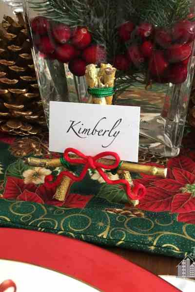 Holiday Easel: For Place Cards and more!