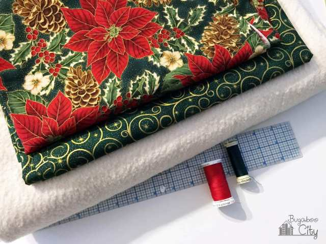 Holiday Table Runner Supplies Needed