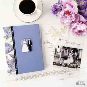DIY Wedding Card Keepsake Book