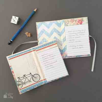 DIY Mini Notepads