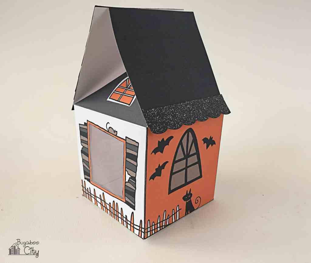 Halloween Treat Box Haunted House