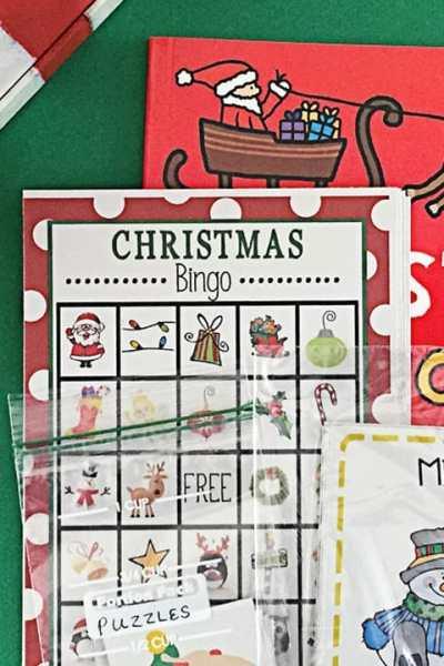 Kid's Holiday Activity Box